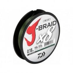 Tresse J-Braid Verte 10°° x8 Brins 150m - Daiwa