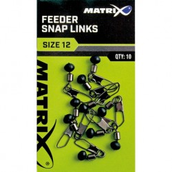 Perle Agrafe Feeder Snap Link - Matrix