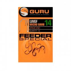 Hameçons Super LWGF x10 Feeder Special - GURU