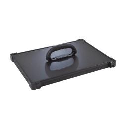Couvercle Alu Anodisé Noir F2 - Rive