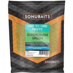 Fibre Paste Super Crush Green 500g - Sonubaits