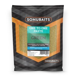 Pate One to One Green 500g - Sonubaits