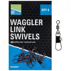 Emerillon Agrafe Waggler Link Swivel - Preston Innovations