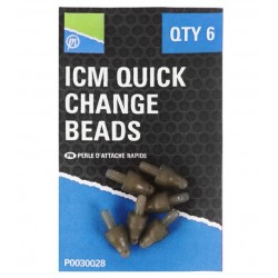 Attache Perle ICM In-Line Quick Change Bead x6 - Preston Innovations