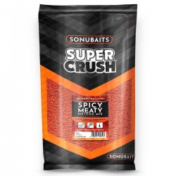 2kg Super Crush Spicy Meaty Method Mix - Sonubaits