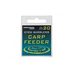 Hameçon Eyed Barbless Carp Feeder x10 - Drennan