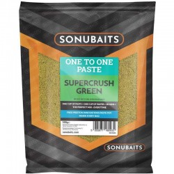 Pate One to One Supercrush Green 500gr - Sonubaits