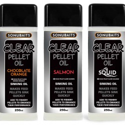Additif Liquide Clear Pellet Oil 250ml - Sonubaits