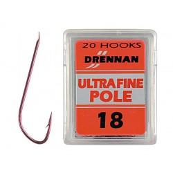 Hameçon Ultra Fine Pole x20 - Drennan