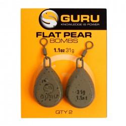 Plomb Flat Pear Bombs x2 - GURU