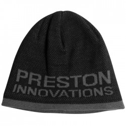 Bonnet Noir/Gris Beanie Hat - Preston Innovations
