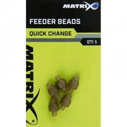 Perle Method Feeder x5 Quick Change Feeder Beads - Matrix