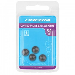 Billes Percées Inline Coated Ball - CRESTA
