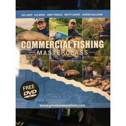 DVD Commercial Fishing Masterclass - Preston Innovations