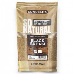 Amorce So Natural Black Bream 1kg - Sonubaits