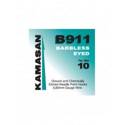 Hameçons B911 Eyed Barbless x10 - Kamasan