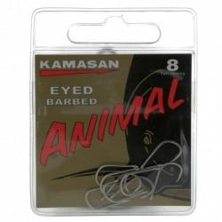 Hameçon Animal Barbed Eyed x10 - Kamasan