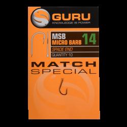 Hameçons Match Spécial x10 - GURU