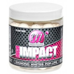 Pop-Up 15mm Whites Diamond High Impact - Mainline