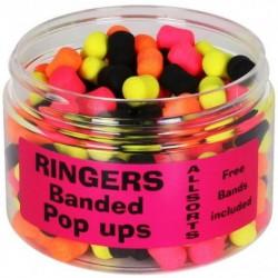 Mix Banded Pop-Ups Allsorts 60g - Ringers