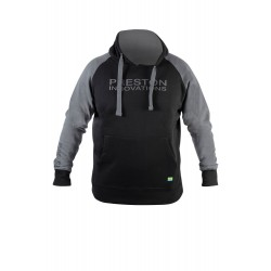 Black Pull Over Hoodie - Preston Innovations
