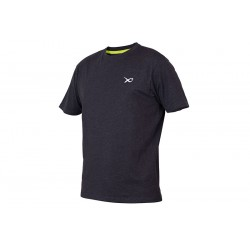 T-Shirt Minimal Black Marl - Matrix