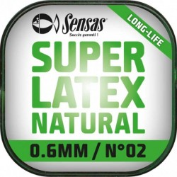 Elastique Super Latex Natural 700% 6m - SENSAS