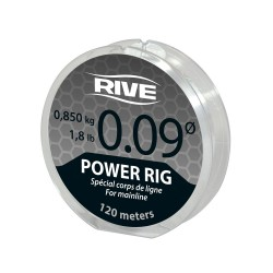 Nylon Power Rig Line Transparent 120m - Rive