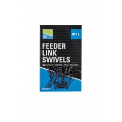 Emerillon Agrafe Feeder Link Swivels x8 - Preston Innovations